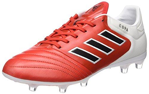 Adidas Herren Copa 17.2 FG für Fußballtrainingsschuhe, Rot (Red Core Blackfootwear White), 44 EU