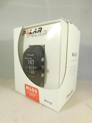 POLAR 90051092 - Sportuhr Trainingscomputer M400, Schwarz, Aktivitätentracker