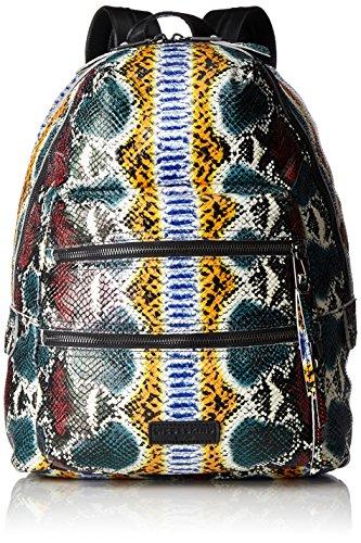 Liebeskind Berlin Damen Sakus7 Rucksackhandtasche, Mehrfarbig (Multi Colored Snake), One Size