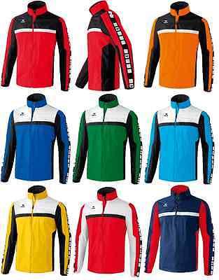 Erima 5-Cubes Regenjacke / Fußball Jogging Fitness Gr. 128 - 164