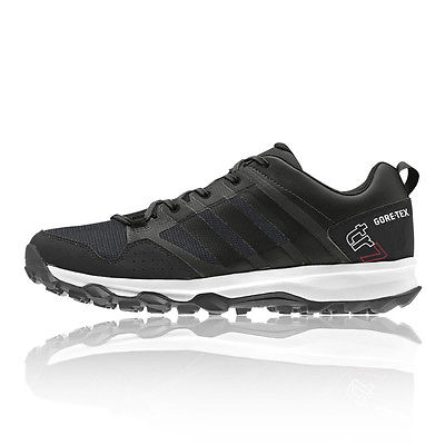 Adidas Kanadia 7 Gore-Tex Herren Trail Laufschuhe Turnschuhe Sportschuhe Schwarz