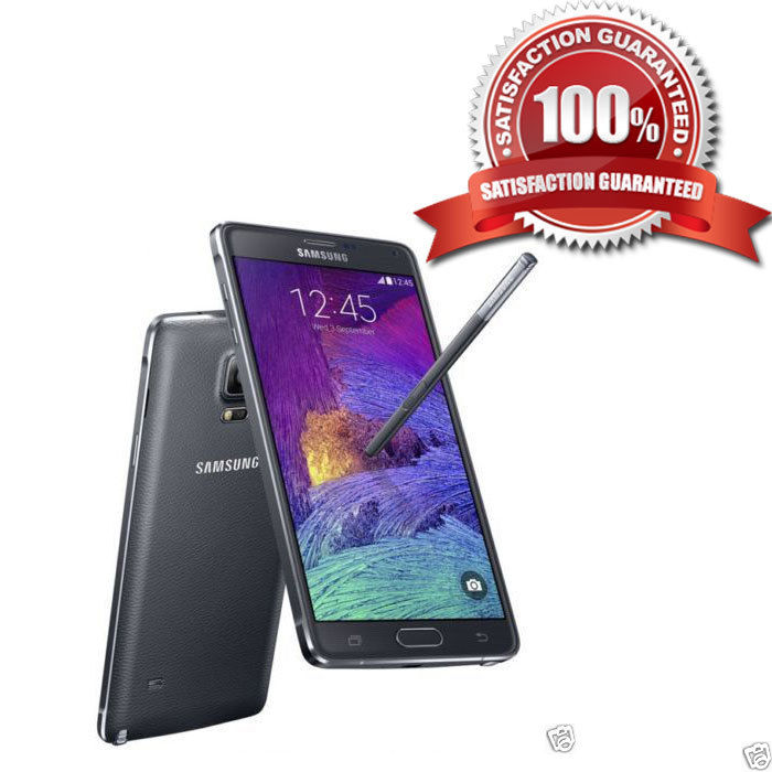 Samsung Galaxy Note 4 32GB Black Unlocked Smartphone UK B+++ GRADE UK SELLER