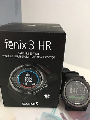 garmin fenix 3 hr sapphire edition mit Garantie