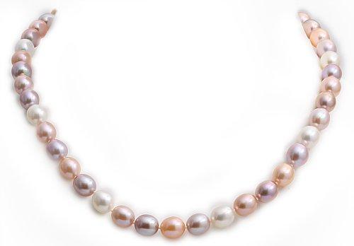 Kimura Pearls, Damen Kette 9 Karat (375) Gelbgold 45cm