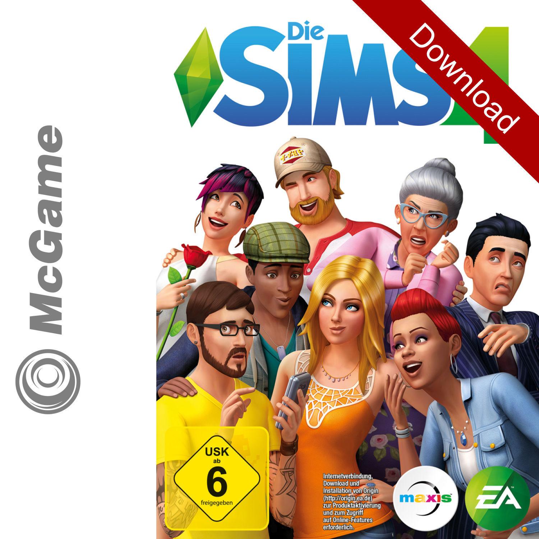Die Sims 4 - Hauptspiel | PC / Mac Origin Code | Neu