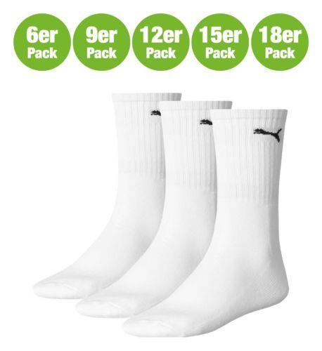 PUMA 7312-300 SPORT SOCK WHITE 6er 9er 12er 15er 18er Pack