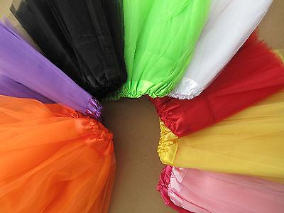 Ballett Rock Tütü Petticoat Kinder Mädchen Ballettrock Fasching Karneval Hellowe