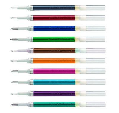 Pentel EnerGel Liquid Gelminen LR7 Ersatzminen 12 Farben ab 3 Stück für BL77