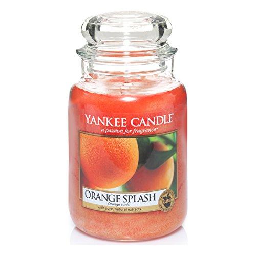 Yankee Candle 1304315E Orange Splash Grosses Jar