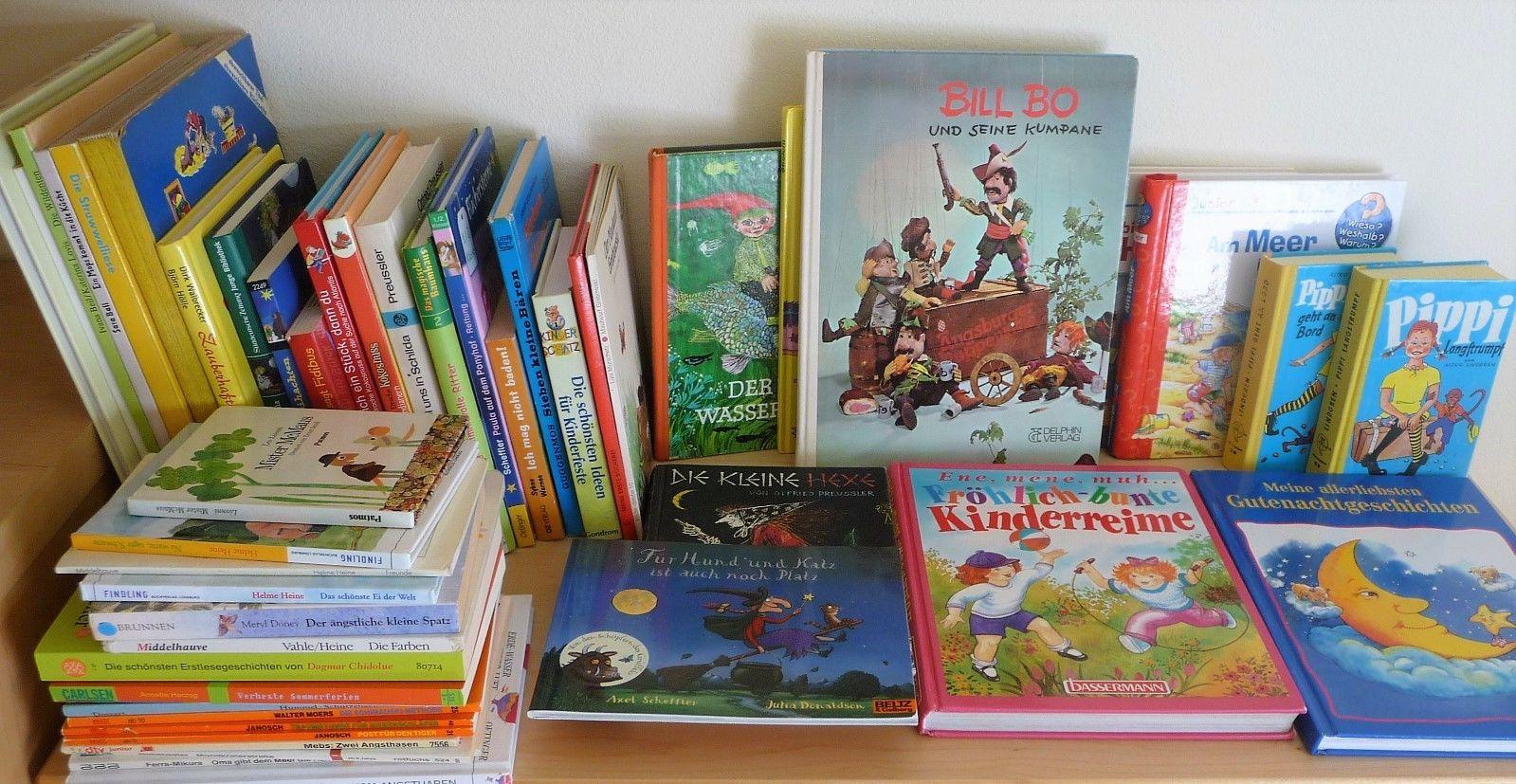Paket mit 49 tollen Kinderbücher Drache Kokosnuss Preußler Helme Heine u.Andere