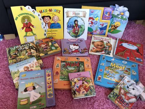 Bücher Paket, Kinderbücher für kleine Kinder, 16 Stück