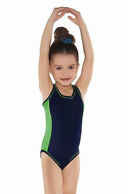 Mädchen Schwimmanzug Badeanzug Kinder Schwimmer Y-Träger SD006 Gr. 116 bis 158