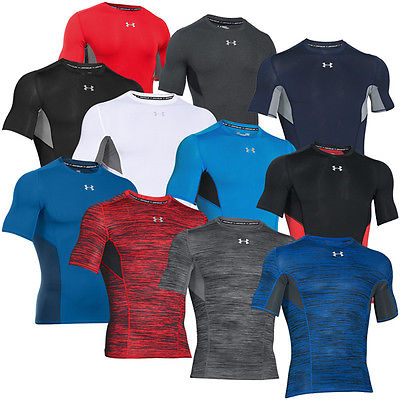 UNDER ARMOUR COOLSWITCH COMPRESSION SHORT SLEEVE TEE KURZARM BASELAYER T-SHIRT