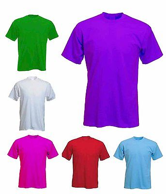 Ladies Loose Fit Classic 100% Cotton T Shirts Size 6 to 32 / XS to 4XL - AZ301