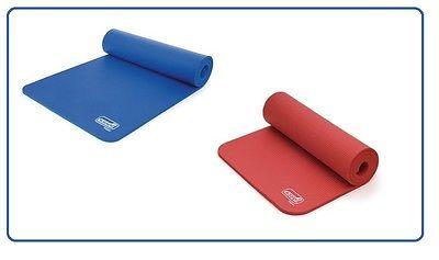 SISSEL Gymnastikmatte - Die optimale Trainingsunterlage in Rot oder Blau