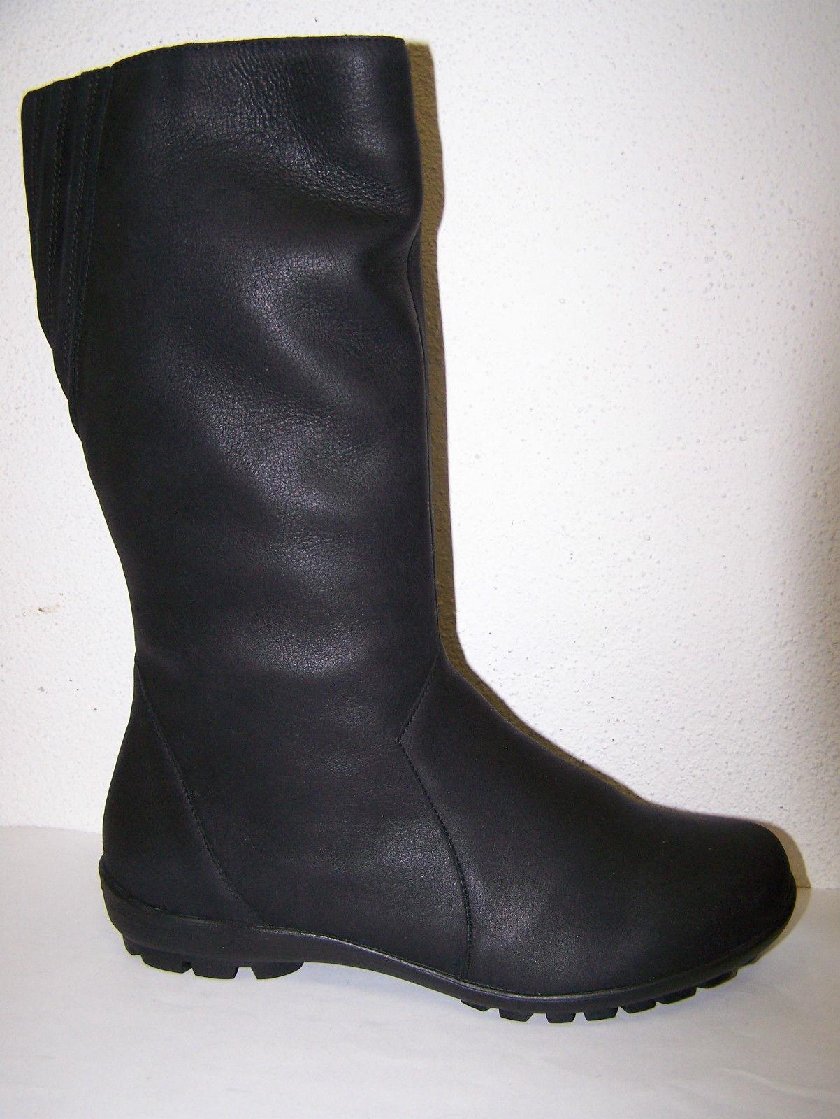 Think! Schuhe mit Lammfell Modell Inua schwarze wasserabweisende Stiefel Boots