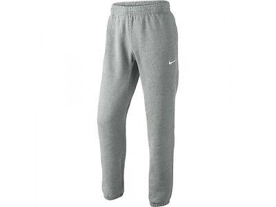 Nike Herren Trainingshose Club Fleece Cuffed Jogginghose Hose Grau gefüttet NEU