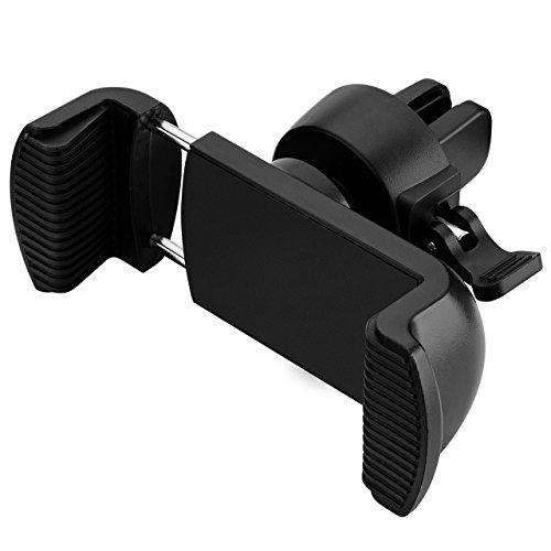 Mpow autohalterung KFZ handyhalterung Lüftung Multi-Winkel Universal handyhalterung für iPhone 7 Plus Samsung Galaxy LG, Huawei, HTC, Motorola, Sony usw. Schwarz