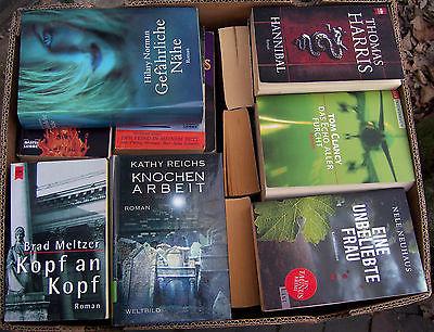 Krimi-Thriller - 55 Bücher - Buchpaket Bücherpaket