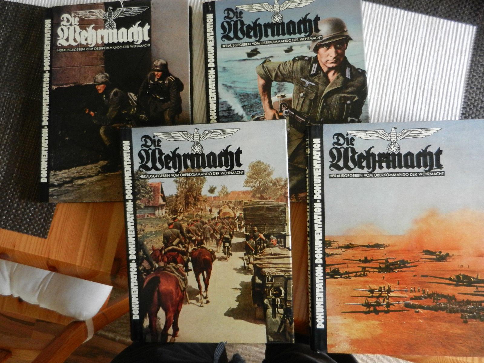 4 Bände Dokumentation - 2. Weltkrieg