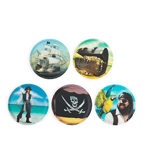 Ergobag Accessoires Klettbilder-Set 5-tlg Kletties Piraten 013 piraten
