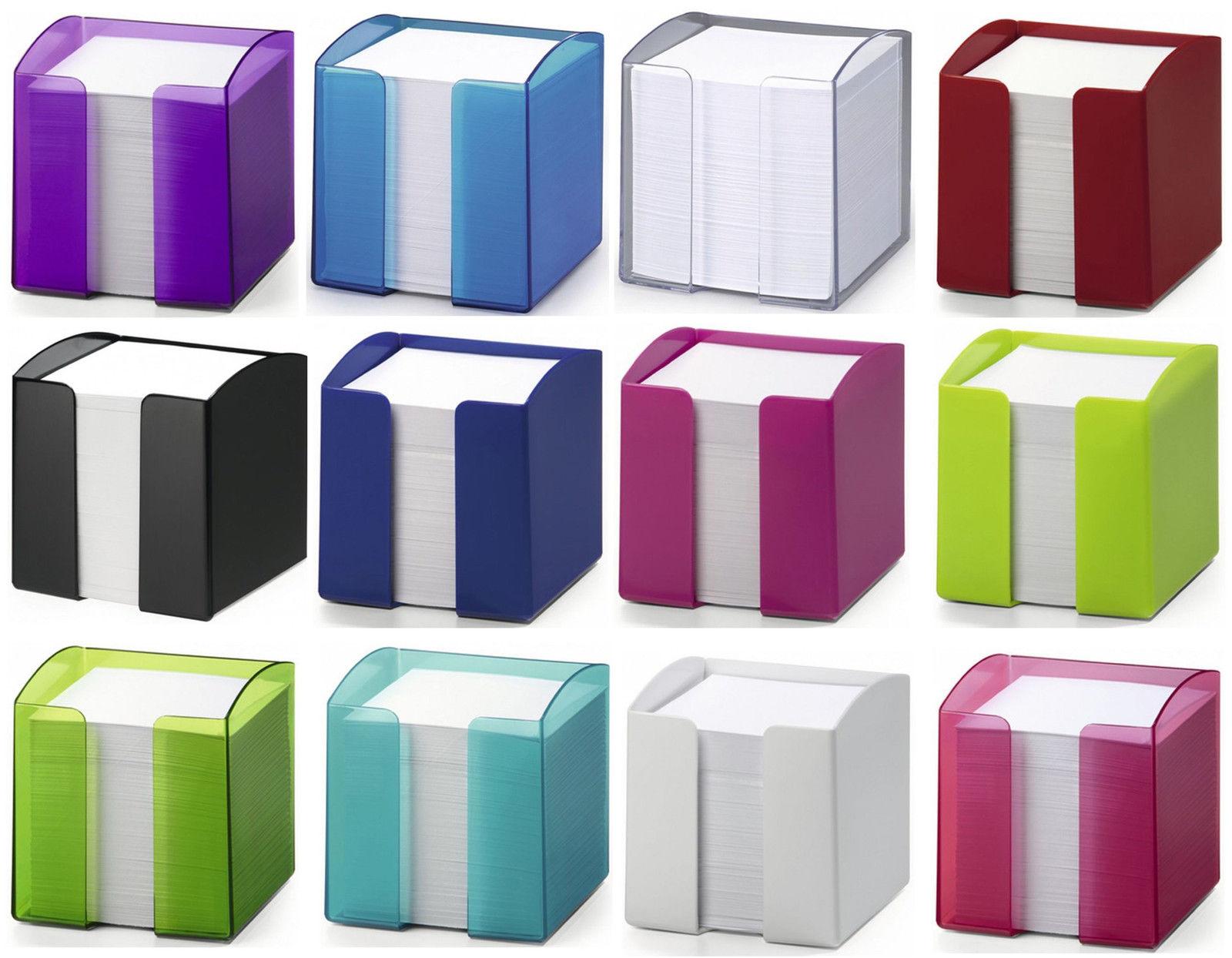 Durable ZETTELKASTEN TREND transluzent 10x10,5x10 cm verschiedene Zettelbox
