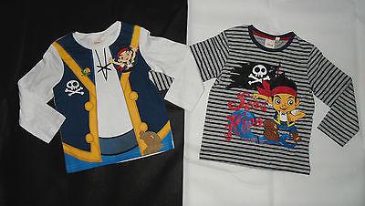 LA- Shirt Disney Jake Nimmerland Piraten Kostüm Fasching Pirat 92 98 104 110 116