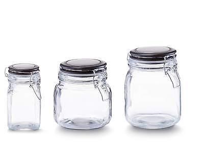 Zeller Bügelverschluss Vorratsglas Vorratsgläser 280ml 750ml 1000ml Einmachglas