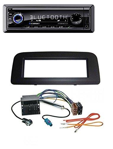 Blaupunkt Brisbane 230 MP3 USB SD Bluetooth AUX Autoradio für Skoda Fabia (ab 2006) Roomster (ab 2007)