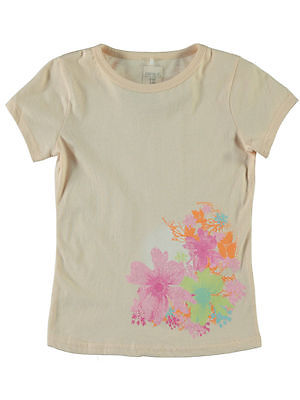 NAME IT süßes kurzarm T-shirt Vaiken in apricot Größe 110 bis 158/164