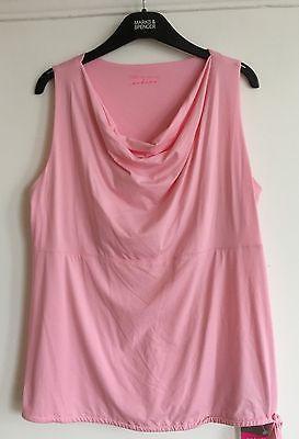 M&S Cowl Neck Secret Support Active Wear Sizes 12/14/16  RRP £22.50