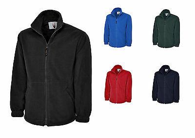 Premium Fleecejacke XS - 6XL 5 Farben Jacke Winterjacke Windjacke Micro Fleece