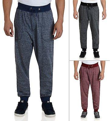 New Soul Star Sweat Pants Fleece Jogging Bottoms Black Blue Burgundy Trousers