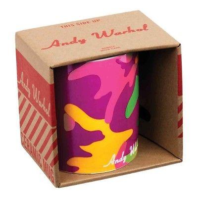 Andy Warhol Magenta Camouflage Mug by Galison Hardcover Book (English)