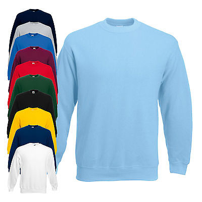 Fruit of the Loom Kinder Set-In Sweatshirt - Pullover -11 Farben  * Neuware *