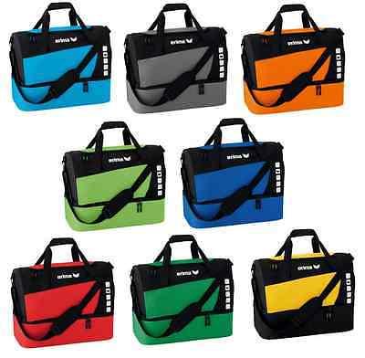Erima Club 5 Line Sporttasche mit Bodenfach  -  Trikottasche Gr. S - L