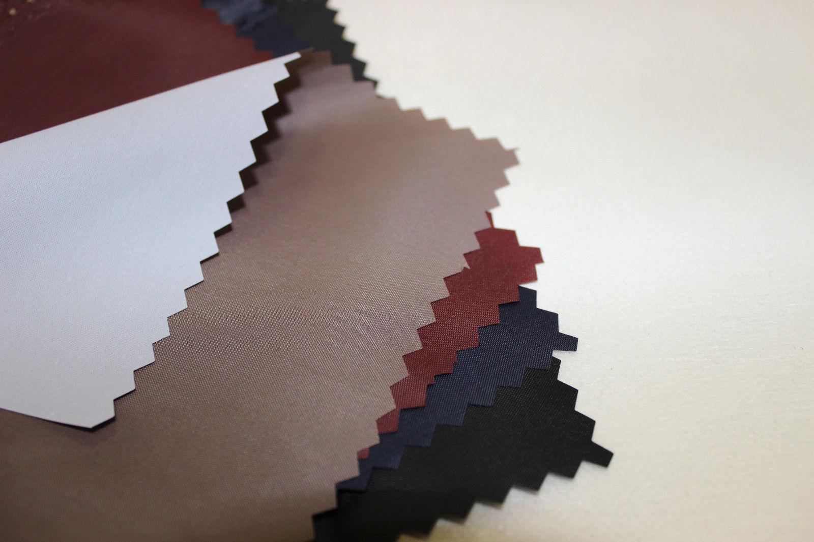 1 m Polyester Stoff, PU- beschichtet, wind- und wasserdicht, freie Farbauswahl