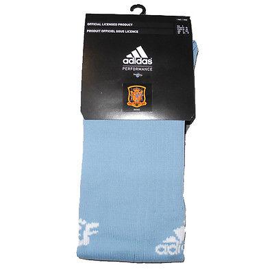 Adidas Spanien Fef H GK Socken Stutzen Hellblau 310507