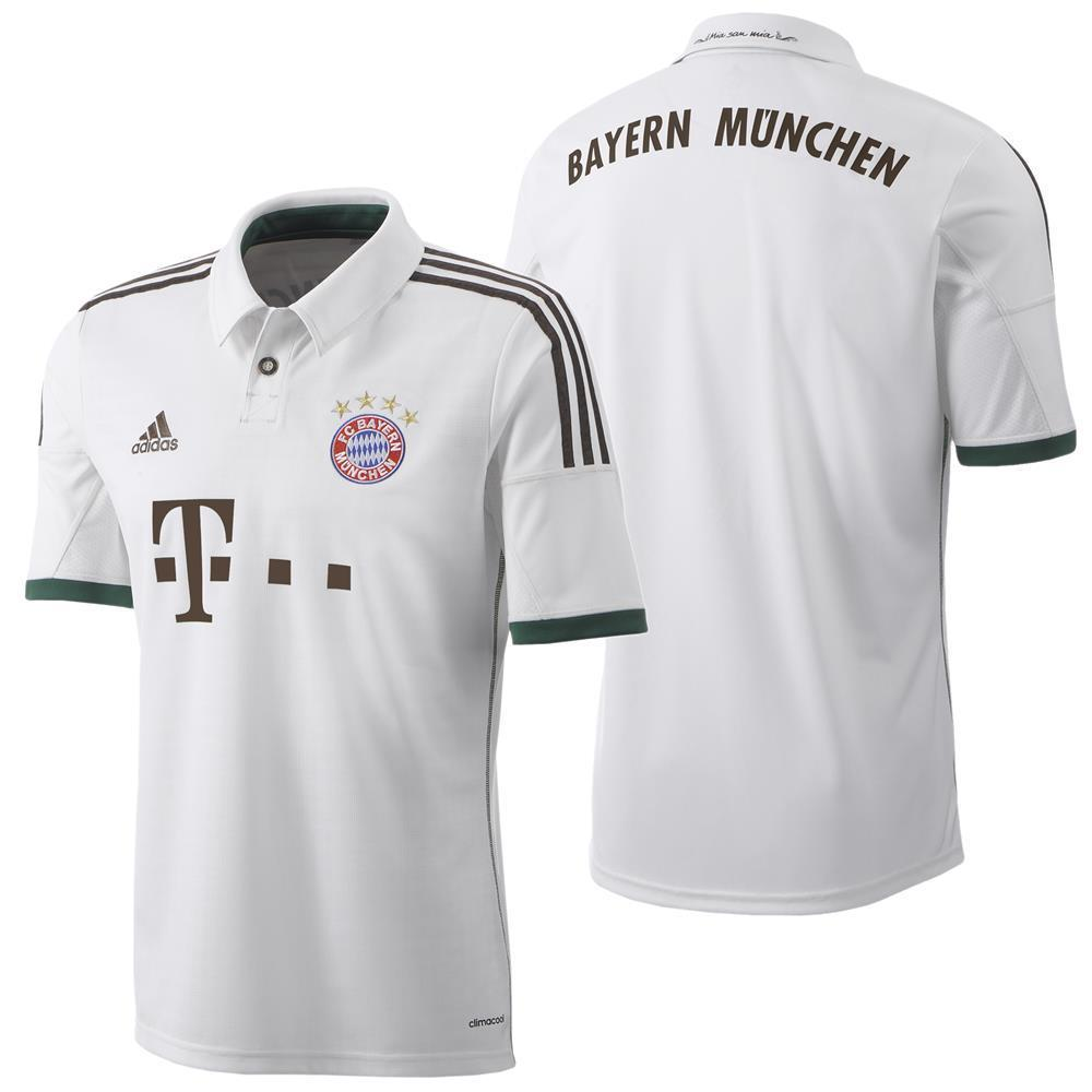 adidas FC Bayern München Away Trikot Wiesn Trikot Oktoberfest Herren/Kinder weiß