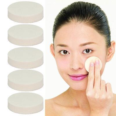 10Pcs Make-Up Werkzeuge Gesicht Waschen Säuberung Weich Schwamm Pulver Puff