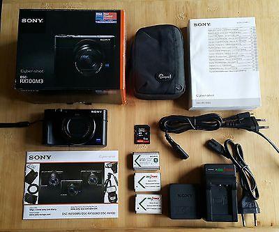 Sony Cyber-shot DSC-RX100M3 20.1 MP Digitalkamera mehrfachTestsieger Top Zustand