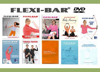 Original Flexi-Bar Schwingstab DVD 's - Riesenauswahl - Auf Lager NEU+OVP