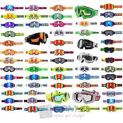 ONeal Cross Goggle Motocross Downhill Brille MX DH MTB B1 B2 B3 B Flex Hendrix