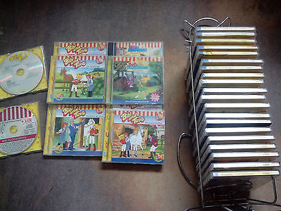 CD BIBI und TINA Sammlung Blocksberg Martinshof Pferde Reiten mehr als 20 CD´s