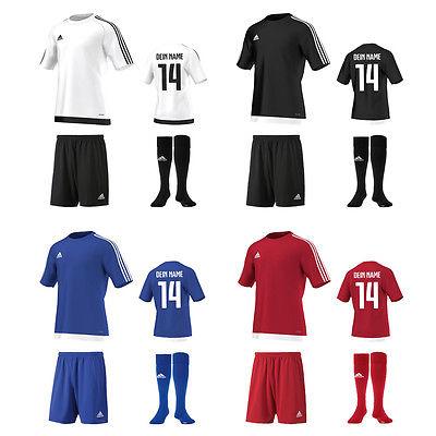 83cfe9078828 Adidas Estro15 Trikot Short Stutzen Herren Fußball Trikotset TOP ANGEBOT