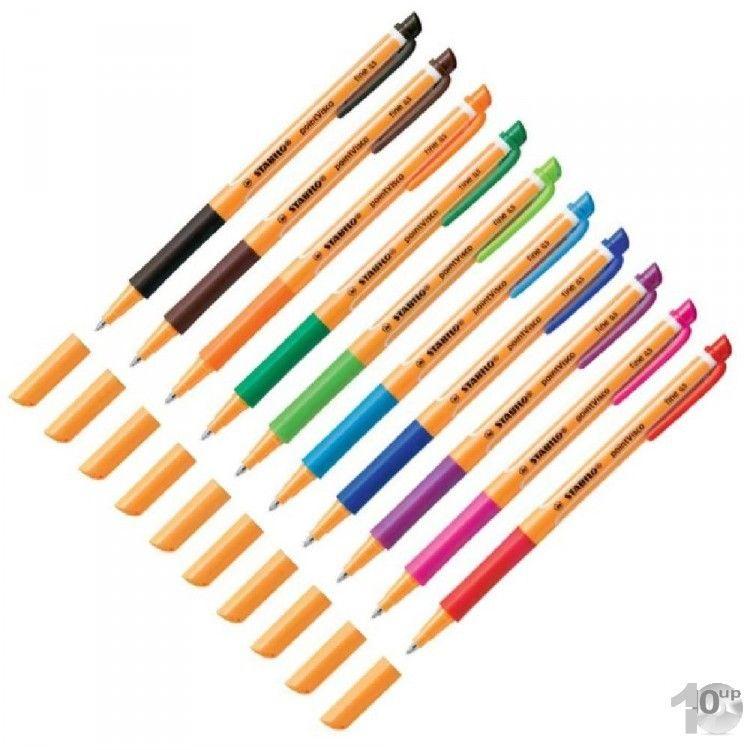 Stabilo Gel-Roller pointVisco Stärke 0,5 mm versch. Farben zur Auswahl