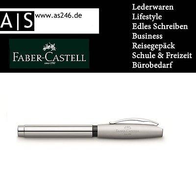 Faber-Castell - Füllfederhalter BASIC Metall glanz