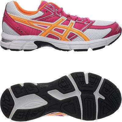 Asics Gel Impression 7 pink/weiß/orange Damen-Laufschuhe mit Gel-Dämpfung NEU