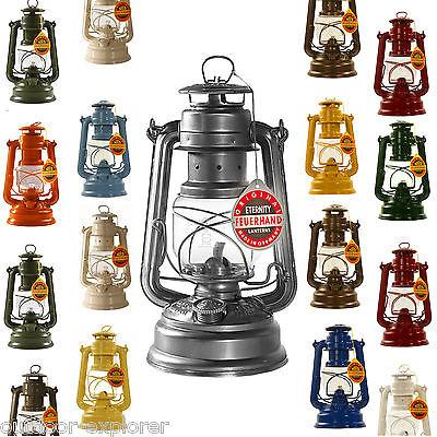 FEUERHAND® Sturmlaterne 276 Petroleum Lampe Docht Laterne, viele Farben!