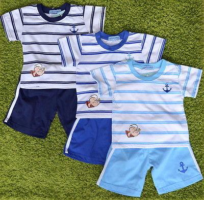 T-Shirt und Bermuda  Shorts Kurzarmshirt